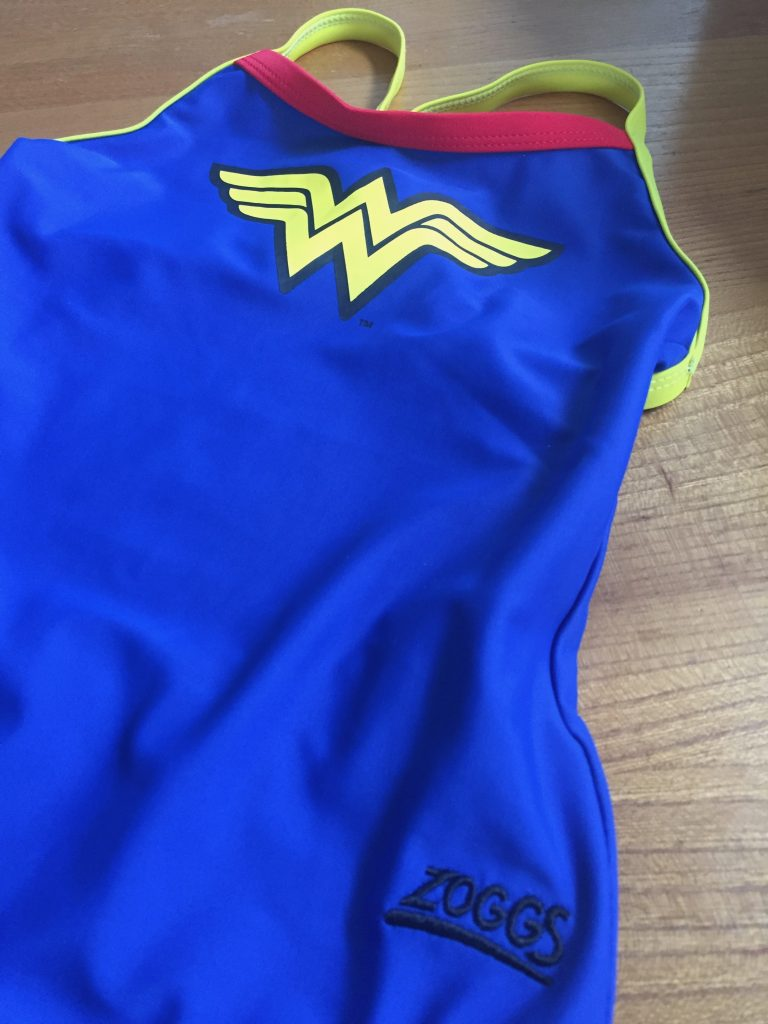 Zoggs Wonder Woman swimming costume