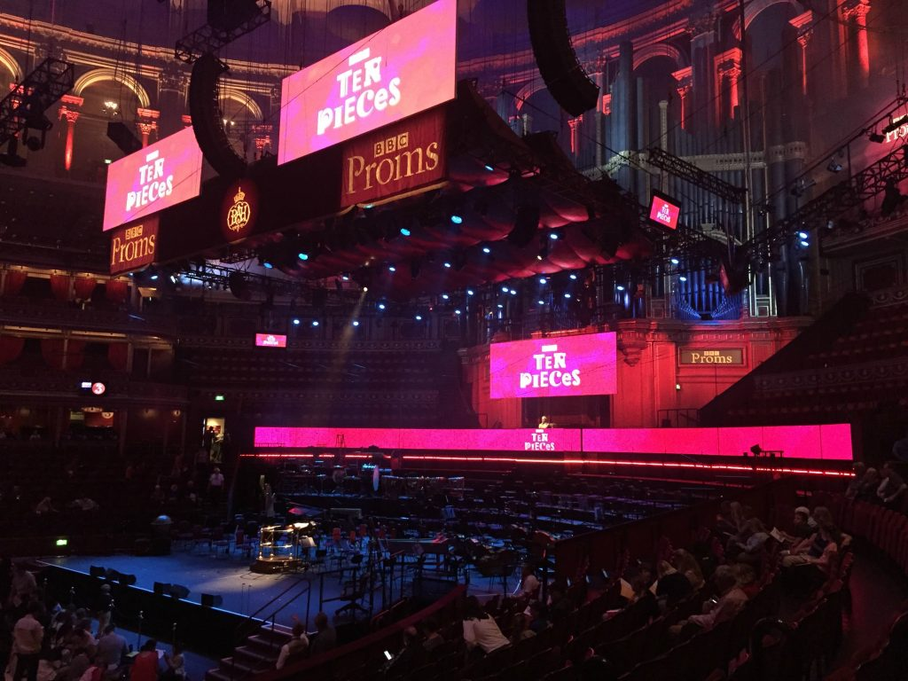 Pregnancy Diary BBC Proms Royal Albert Hall