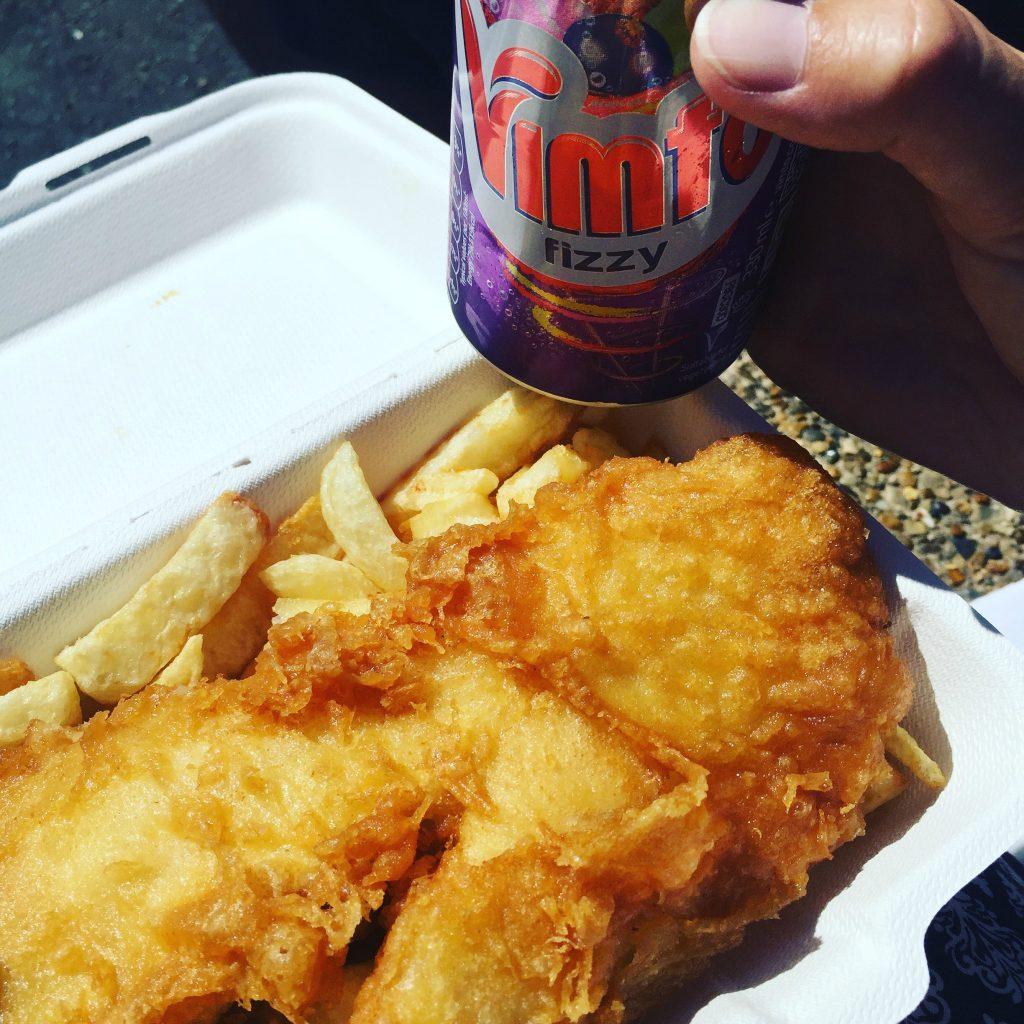 Pregnancy Diary Wells fish and chips