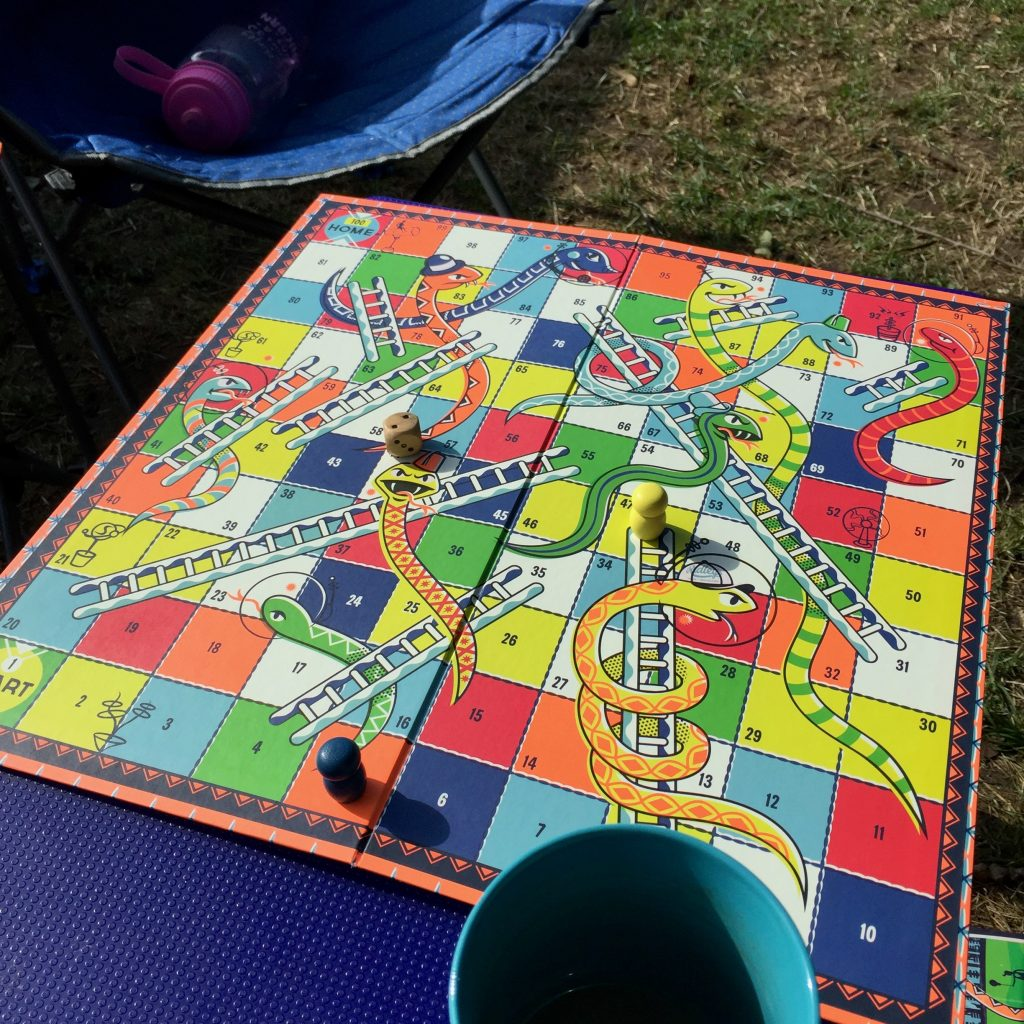 Pregnancy Diary weeks 27 28 29 camping snakes and ladders