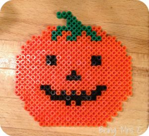 Halloween Hama Beads Pumpkin