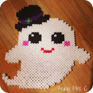 Halloween Hama Beads Ghost