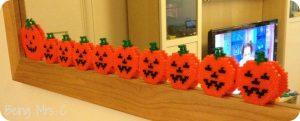 Halloween Hama Beads Pumpkins