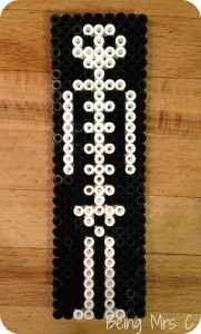 Halloween Hama Beads Skeleton