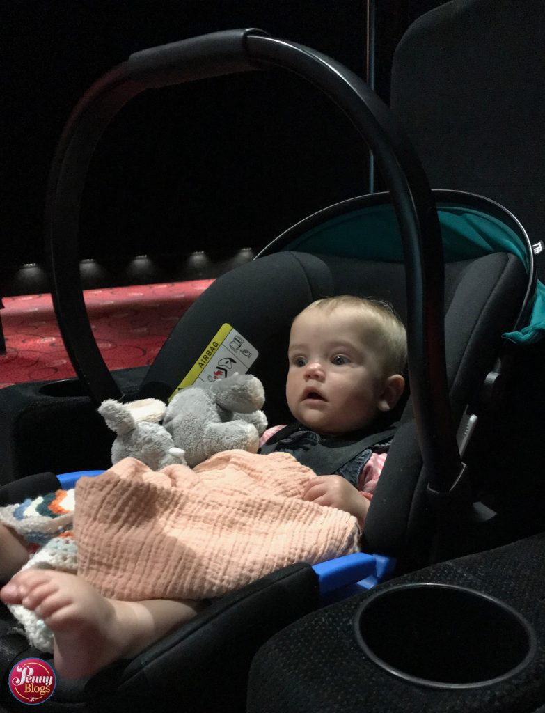 Cinema with a baby