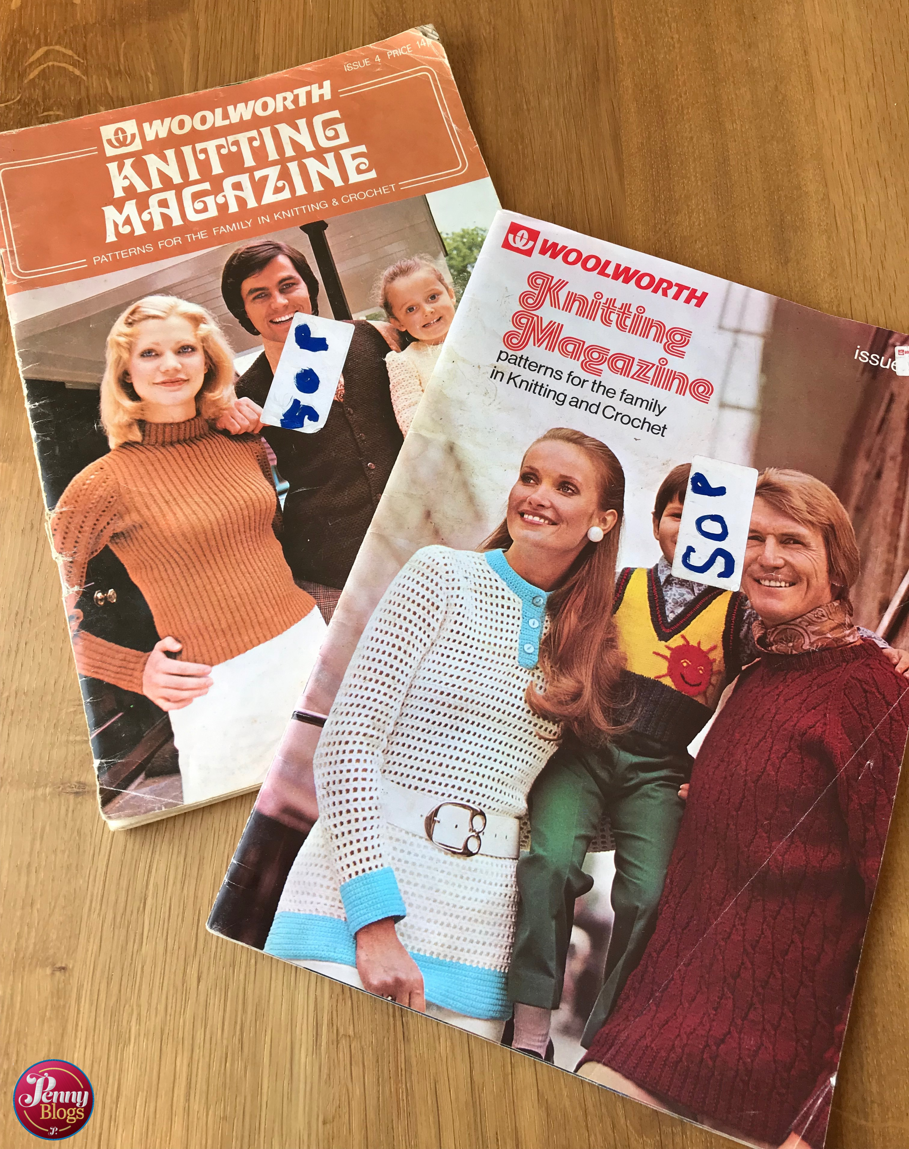 Vintage Woolworth Knitting Magazines Penny Blogs