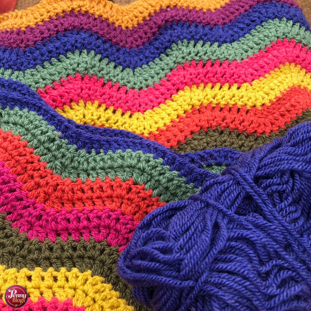 Attic 24 Inspired Crochet Baby Blanket