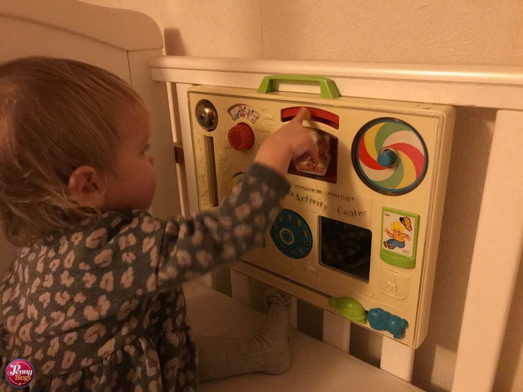 2020 Fisher Price VintageActivity Centre